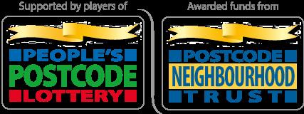 Postcode Lottery and Postcode Neighbourhood Trust logos